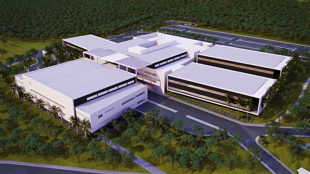 Croqui do Hospital de Parelheiros (Divulgação/SIURB)
