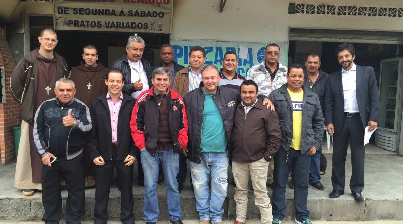 vereador Ricardo Nunes em visita a Chácara Santo Amaro.