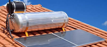 Aquecedor de água solar SP