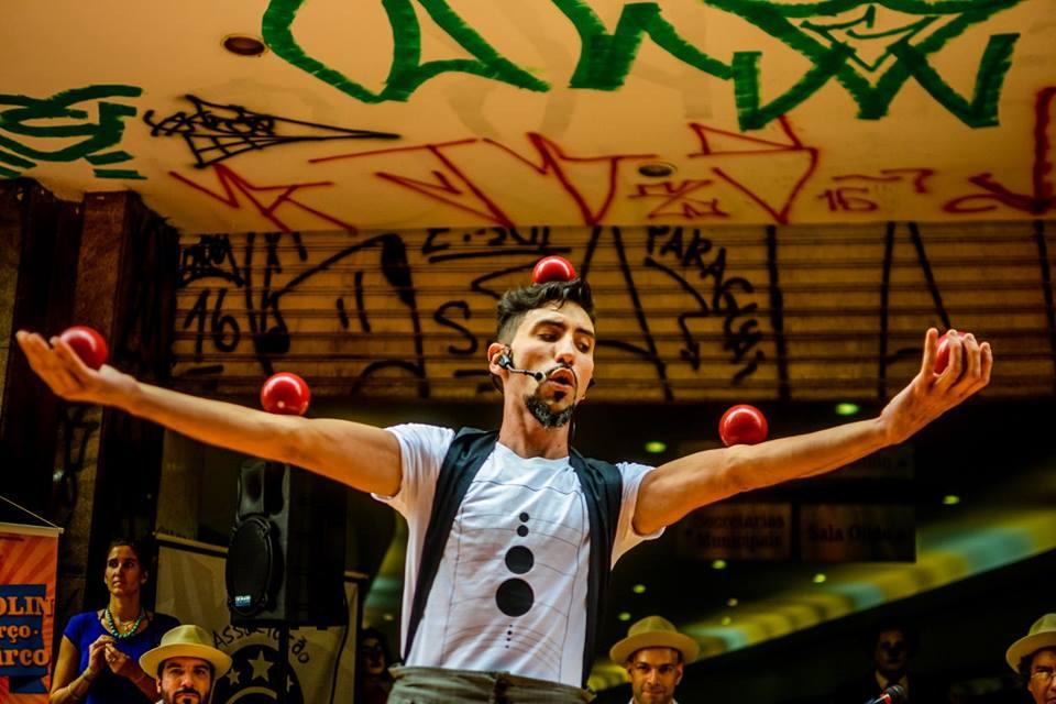 """Projeto """"O Circo Chegou!"""" traz apresentações recheadas de cultura popular para a Zona Sul e Zona leste de São Paulo"""