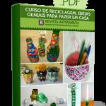 Curso online de artesanato com recicláveis