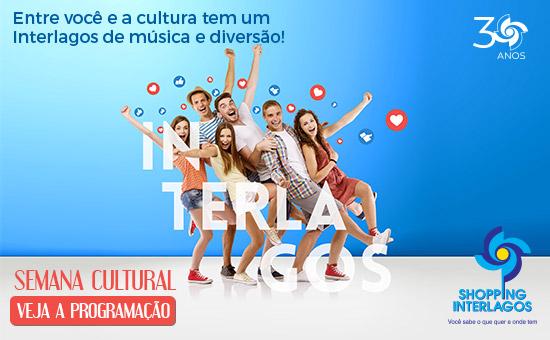 Shopping Interlagos comemora 30 anos com uma animada Semana Cultural