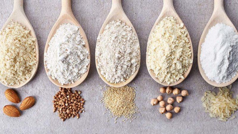 Como usar farinhas sem glúten