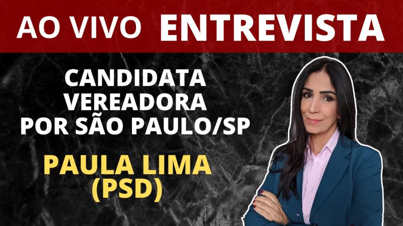 Entrevista com Paula Lima, candidata a vereadora de São Paulo (SP)