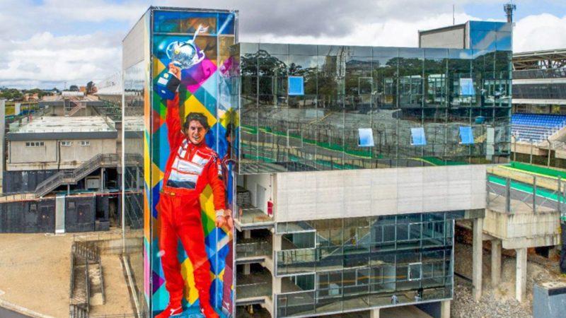 Estação Primavera-Interlagos da CPTM terá painel em homenagem a Ayrton Senna