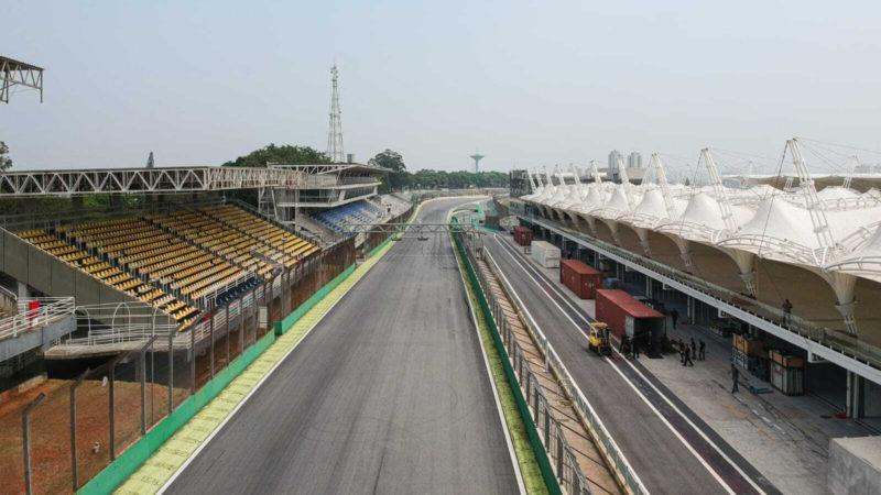 Autódromo de Interlagos em obras !